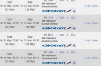 Aeroflot to launch flights from Domodedovo