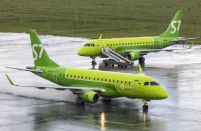 Sibir Technics completes A-checks on S7 Airlines Embraer E170s