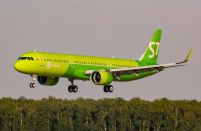 Russia's S7 Airlines leases four A321neos from ALC in 2018