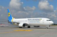Ukraine International Airlines takes delivery of a Boeing 737-800