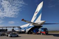Russian cargo airline to base a Ukrainian-designed An-124 in the USA