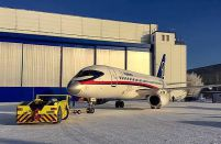 Superjet 100 production rates reduced by third in 2018