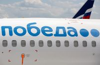 Low-cost Pobeda rises to third largest Russian airline for the first time
