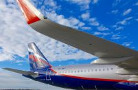 Russian airlines' passenger numbers grew by 9.2 per cent last month
