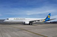 Ukraine International embraces its first Embraer 195