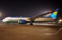 Uzbekistan Airways takes delivery of a fourth Boeing 787-8
