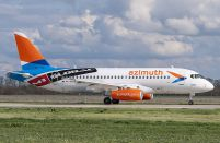 A ninth Superjet 100 is added to Azimuth Airlines' fleet