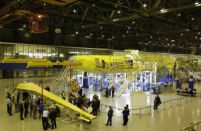 Left half-wing for MC-21 prototype delivered to final assembly