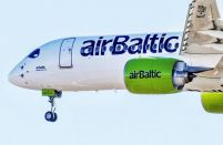 airBaltic carried 12 per cent more passengers in the first quarter of 2019