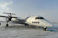 Aurora takes delivery of one more Bombardier Q400