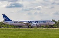 The first MC-21-300 fitted with a passenger cabin joins flight tests