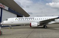 A second Embraer-195 joins Ukraine International's fleet
