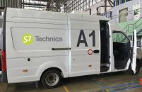 S7 Technics' mobile warehouses improve productivity