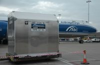 World's first 'intelligent' air cargo container