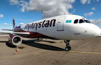 Low-cost FlyArystan receives its third aircraft and opens its 10th destination