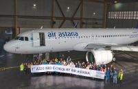 Kazakhstan's Air Astana completes first in-house Airbus A320neo C-Check