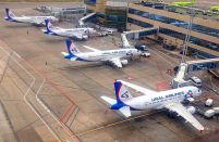 Passenger numbers grew by seven per cent for Russia's Ural Airlines last year