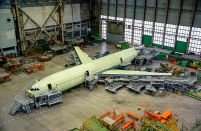 The first flight of Russia's Ilyushin IL-96-400M widebody is not expected before next year