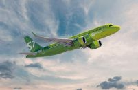 S7 Airlines' passenger traffic grew by 12.4 per cent last year