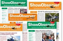 Show Observer selected as HeliRussia 2016 official newsletter