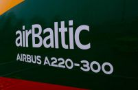 airBaltic's passenger numbers increased by 19 per cent in January