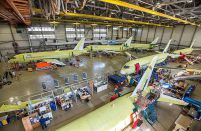 The producer of Russia's Superjet 100 becomes a division of Irkut