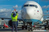 LCC Pobeda is Russia's first big airline to voluntarily suspend all operations