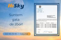 New Moldovan budget carrier HiSky to launch operations next week with an Airbus A320 leased from ALC
