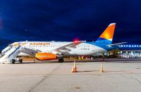 Russia's Azimuth Airlines is the leader in Superjet 100 utilisation rates