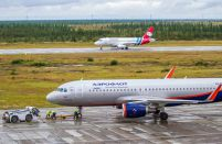 Russian airlines' March traffic only 27 per cent below pre-crisis level