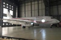 CityJet's second SSJ 100 enters service