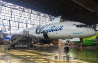 Sibir Technic performs its first C-Check on a western-built air freighter