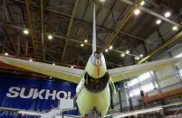 SSJ 100 production rates are down  54%