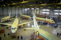 Photo gallery: How Superjets are made