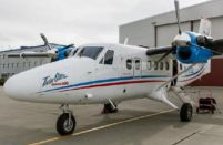 Two more Twin Otters flying in Chukotka