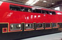 Double-deck trains to deliver passengers to Moscow airports