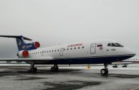 Izhavia receives its ninth Yak-42 jetliner