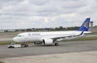 Air Astana replaced both engines on its first A320neo