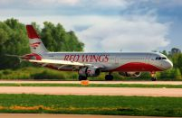 Red Wings receives its first foreign-built aircraft