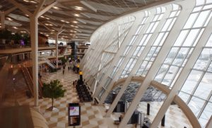 The new terminal of Baku airport can serve 6 million passengers per year (Photo by Fyodor Borisov/Transport-Photo.com)