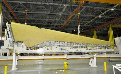 MC-21 Wing Delivered To Irkut