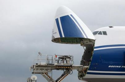 Russian Airports top-20 by cargo traffic - Volga-Dnepr Boeing 747