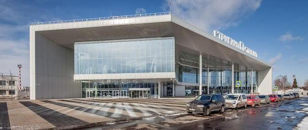 The new terminal at Strigino airport is expected to serve 1.5 million passengers annually