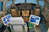 Aviation training in Azerbaijan - a Boeing 757 flight simulator at NAA