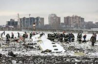 Works completed at the flydubai 737's crash site