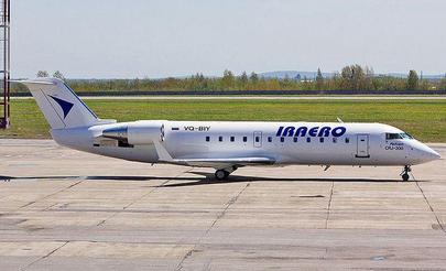 The only jets in IrAero fleet now are CRJ200s