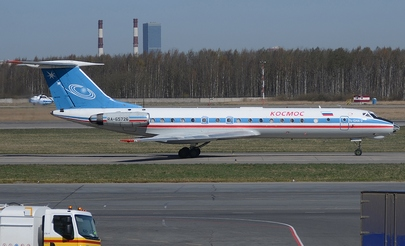 Cosmos operates a fleet of three Tupolev Tu-134s