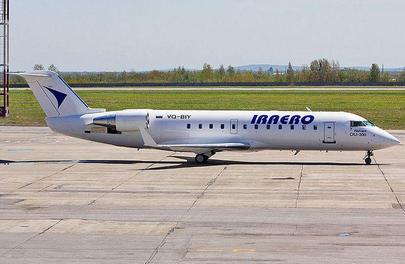 IrAero currently operates less spacious CRJ 200s