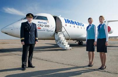 IrAero will operate CRJ200s and SSJ 100s on the same routes