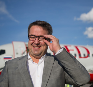 Yevgeny Klyucharev, general director of Red Wings Airlines